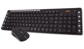 Combo Teclado E Mouse Oex Multimídia Tm401 Sem Fio
