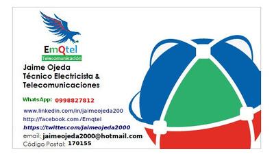 Electricista A Domicilio Y Los Valles Punto Usd 6,00