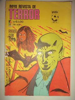 Nova Revista De Terror 23editora Edrel 1973 Raridade