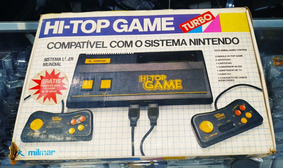 Hi Top Game Console Da Milmar Raro Completo Com Manual