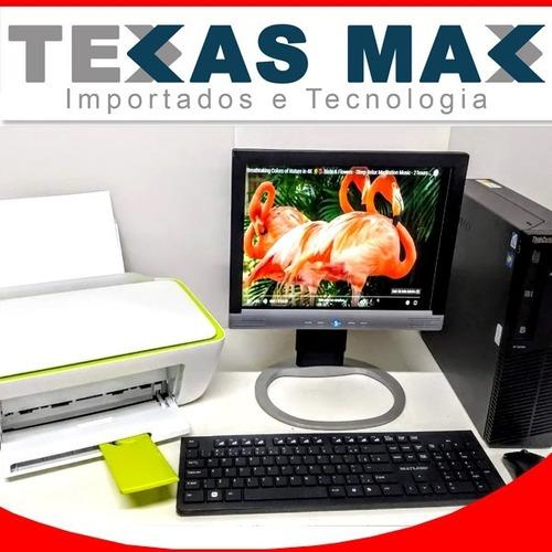 Kit Cpu Corporativa Lenovo Core I5+impressora Hp Mod. 2136