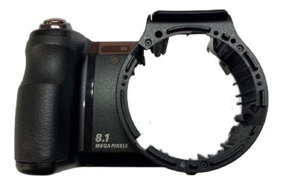 X21774661 Gabinete Carcaça Frontal Botão Disparo Sony Dsc-h9
