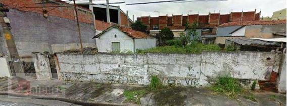 Terreno Em Ótima Localização À Venda, Vila Prudente, São Paulo. - Te0024