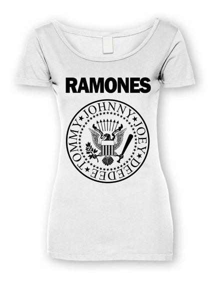 Acdc Blusa Ramones, Rock Metal, Unitalla