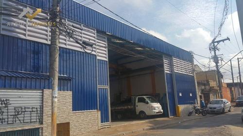 Galpão À Venda, 840 M² Por R$ 2.014.000 - Vila Tibiriçá - Santo André/sp - Ga0016