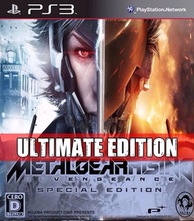 Metal Gear Rising Revengeance Ultimate Edition ~ Ps3 Digital