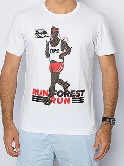 Camiseta Capote Algodão Run