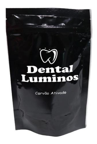 Pó Dental Clareador Com Carvão Ativado Hálito Fresco 30g