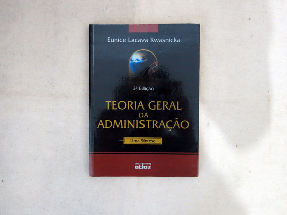 Livro Teoria Geral Da Administração Eunice Lacava Finanças
