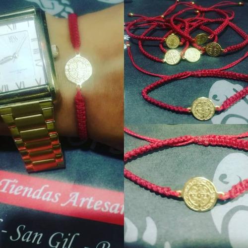 Imagen 1 de 1 de 2 Pulseras Medalla San Benito