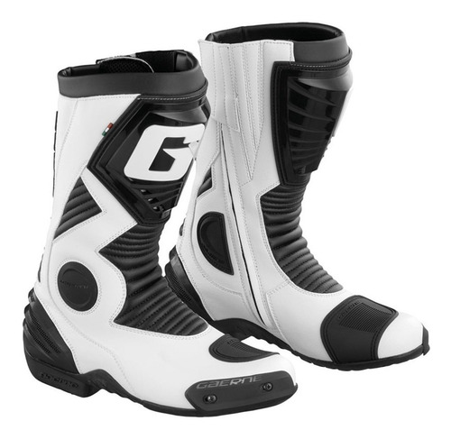 Botas Pista Moto Gaerne G-evolution Five Italianas Blanco