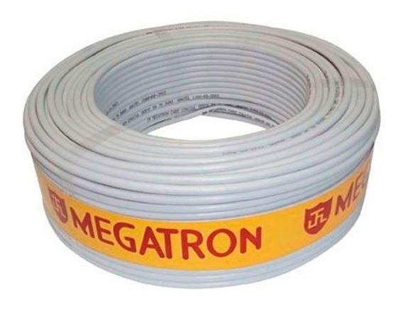 Cabo Megatron Coaxial Flexível Rf4m Bipolar 2x26 Awg 100m Tf