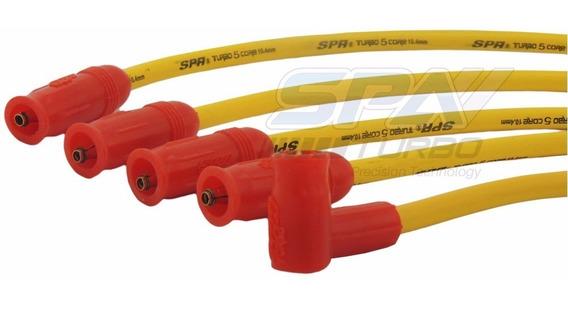 Cabo De Vela 10.4mm Fusca Vw A Ar C/ Pino Amarelo/vermelho