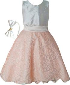 Vestido Infantil De Festa Princesa Tamanhos 2 Ao 16promoção