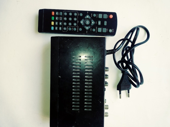 Receptor Digital De Tv Marca Isdbt Usado, Sem Cabo Hdmi