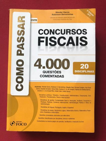 Livro - Como Passar Em Concursos Fiscais - 20 Disciplinas