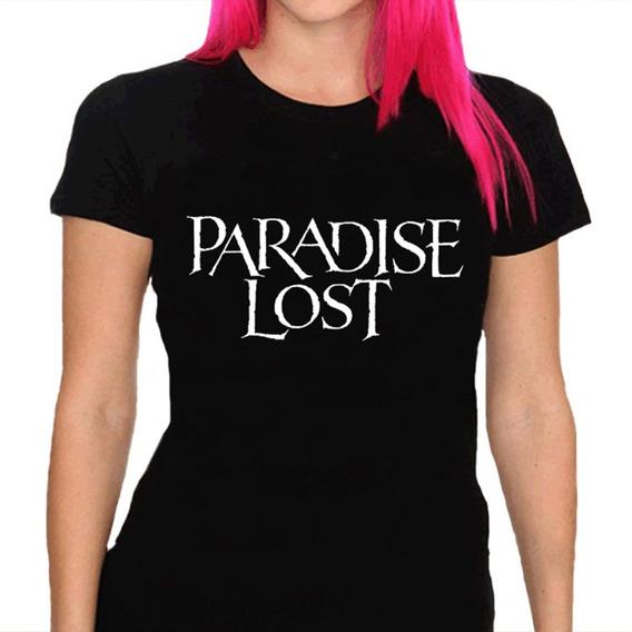 Camiseta Feminina Paradise Lost - 100% Algodão