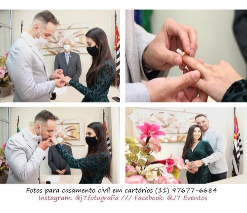 Imagem 1 de 10 de Serviço De Fotografia P/ Casamento Civil, Religioso E Ensaio