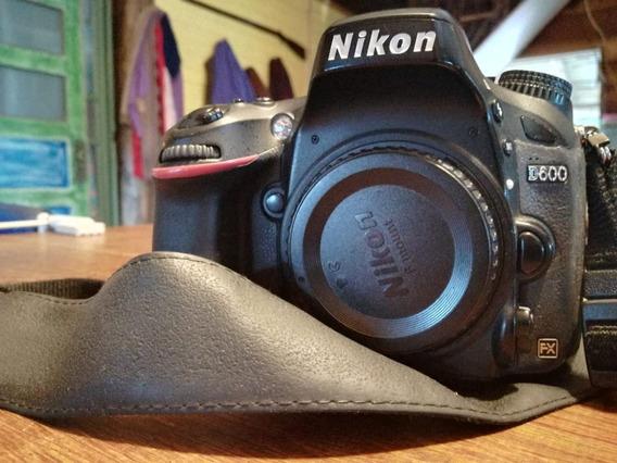 Nikon D600 Corpo Fullframe