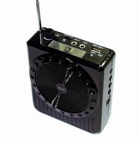 Kit Rádio Amplificador De Voz Usb Micro Sd Microfone K-150