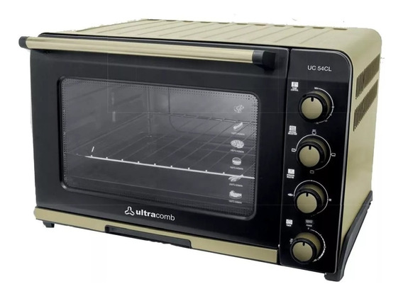Horno Ultracomb Uc54cl Electrico 1800w 54lts Champagne