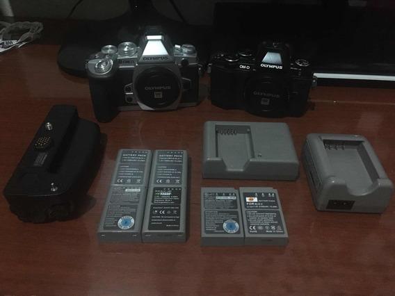 Kit Câmera Olympus M1 + M10 E Acessórios