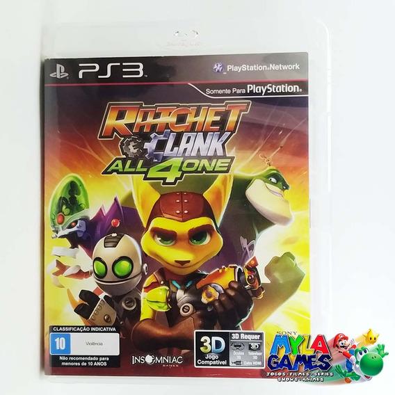 Ratchet And Clank All 4 One Ps3 Mídia Física *usado*