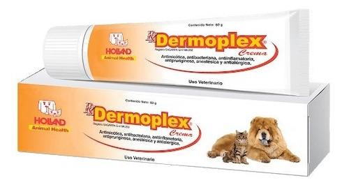 Dermoplex Crema 60 G Holland Para Perro Y Gato