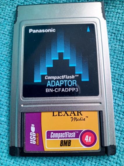 Cartão Memória Compacta Flash 8mb 4x Panasonic Lexar Media