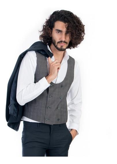 Chaleco De Vestir Para Caballero Con Diseño
