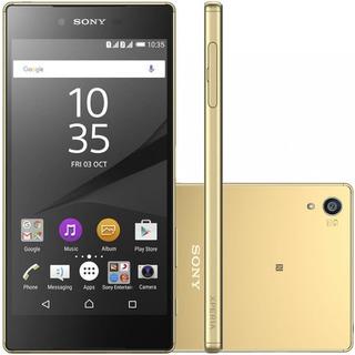 Sony Xperia Z5 Premium E6853 32gb 3gb Ram Dourado Vitrine 1