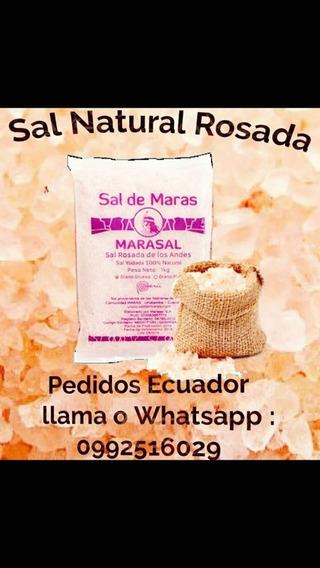 Sal Rosada Importada Del Salar Del Perú- Cusco