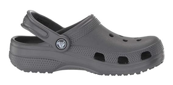 Crocs Clásica Adulto - Slate Grey/gris Pizarra Dxt Envíos