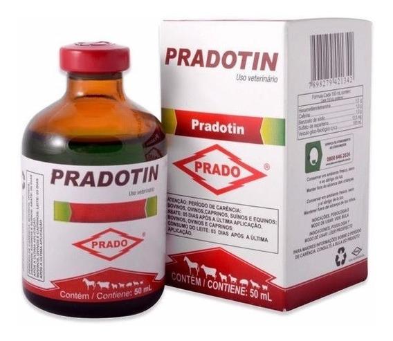 Pradotin 50 Ml | Estimulante Para Equinos Com Cafeína