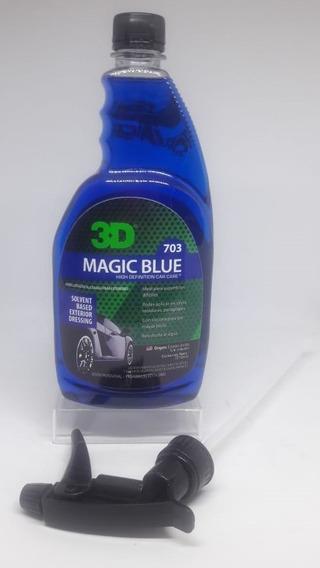 3d Magic Blue Abrillantador Cubiertas Y Plásticos Highgloss