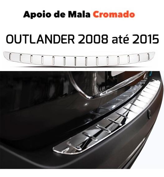 Protetor Cromado De Porta Mala Para Mitsubishi Outlander