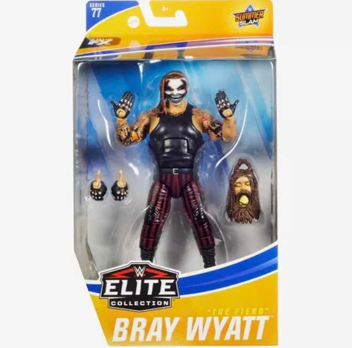 Imagen 1 de 5 de Figura Wwe Bray Wyatt the Fiend  Elite Collection