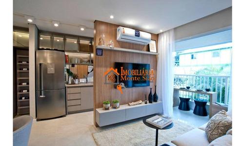 Imagem 1 de 26 de Apartamento Com 2 Dormitórios À Venda, 42 M² Por R$ 249.000,00 - Vila Itapegica - Guarulhos/sp - Ap2781
