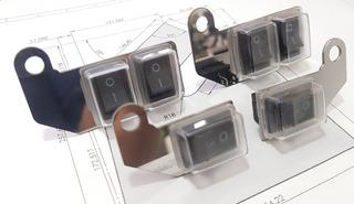 Botoneras Moto 2 Puestos- Switch - Interruptores Para Moto
