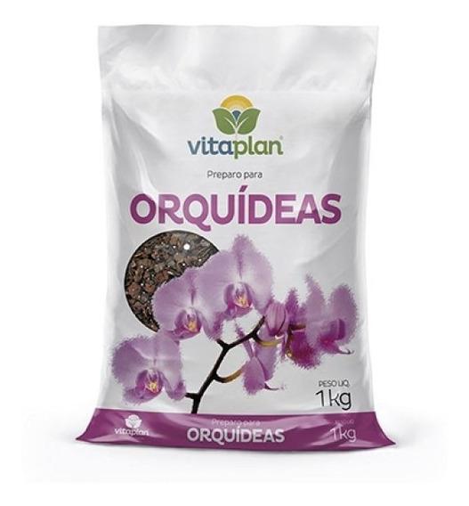 Substrato Terra Especial Orquídeas 1kg Vitaplan