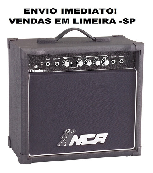 Cubo Amplificado Guitarra Nca Thunder Plus 30w Envio Hoje!