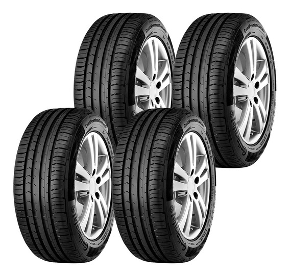 4 Llantas 215/55r17 94v Conti Premiumcontact 5 Radial