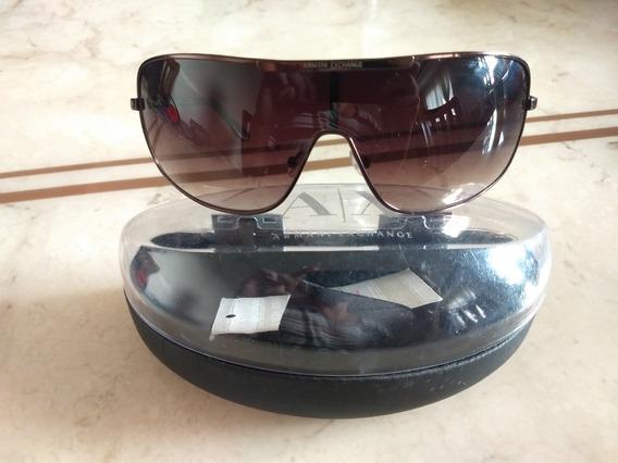 Óculos De Sol Feminino Armani Exchange Ax 056/s Q4g Bronze
