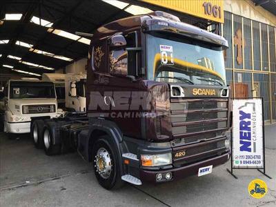 Caminhão Scania R124 420 6x2 2001 Serie Horizonte