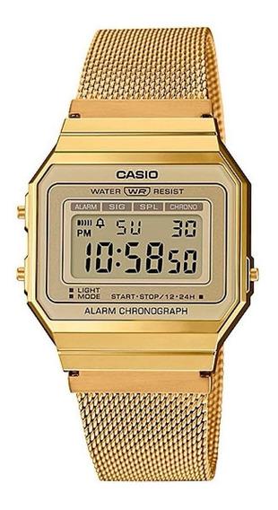 Relógio Unissex Casio Super Slim Vintage A700wmg-9adf