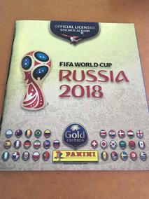 Álbum De Figurinhas Copa Do Mundo 2018 Gold Edition