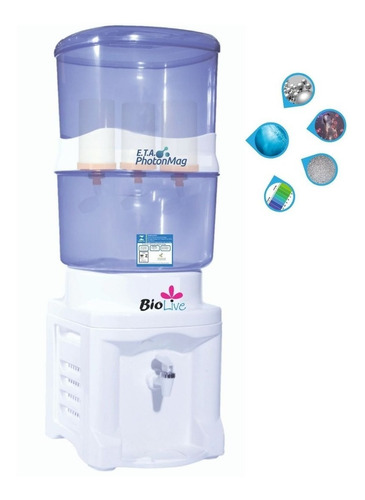 Filtro Água Alcalina Hexagonal
