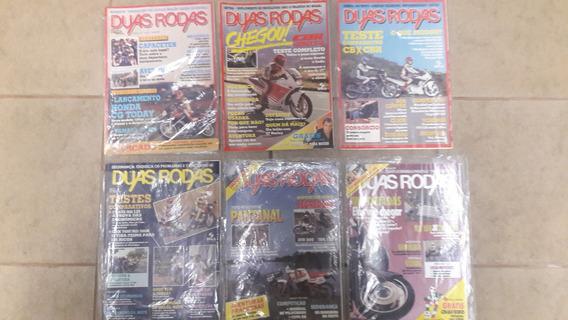 Revista Duas Rodas Nº 167-169-170-177-178 - Ano 1989/1990