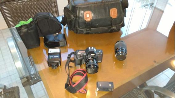 Máquina Fotográfica Analógica Ricoh Xrx Usada