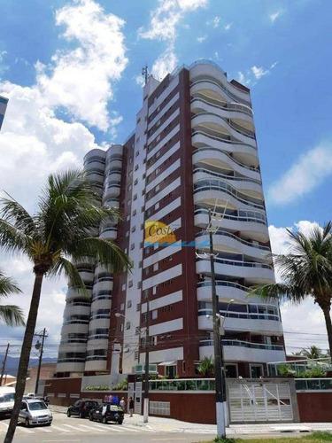 Imagem 1 de 22 de Apartamento Com 2 Dormitórios À Venda, 68 M² Por R$ 320.000,00 - Caiçara - Praia Grande/sp - Ap15756